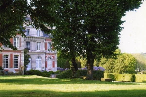 parc du chateau de Fontaine-la-Soret