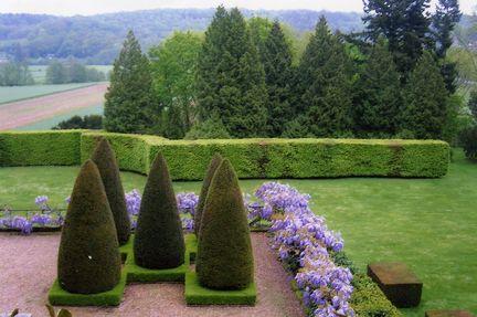 parc du chateau de Fontaine-la-Soret 3