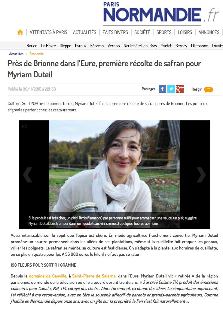 PARIS NORMANDIE-  Mardi 10 novembre – (c) MARC BRAUN