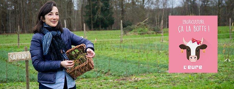Le département de l'Eure met en avant ses agricultrices, un grand merci !