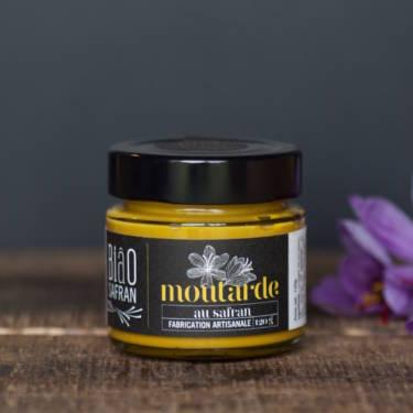 Moutarde fine du Vexin au safran