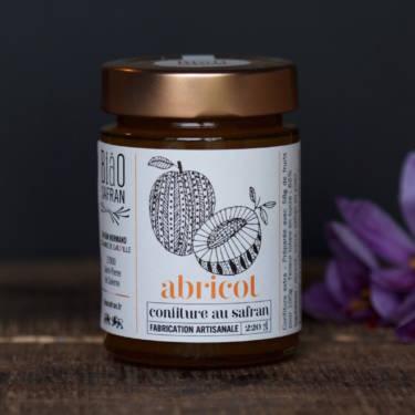 Confiture d'abricot au safran