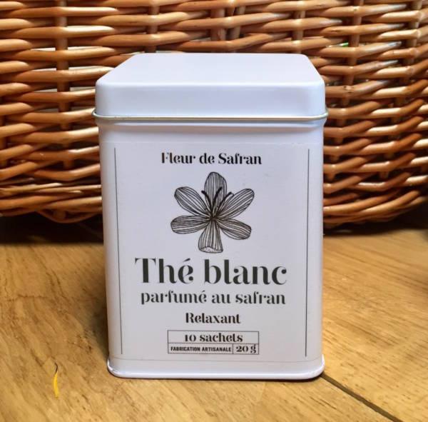 Thé blanc au safran