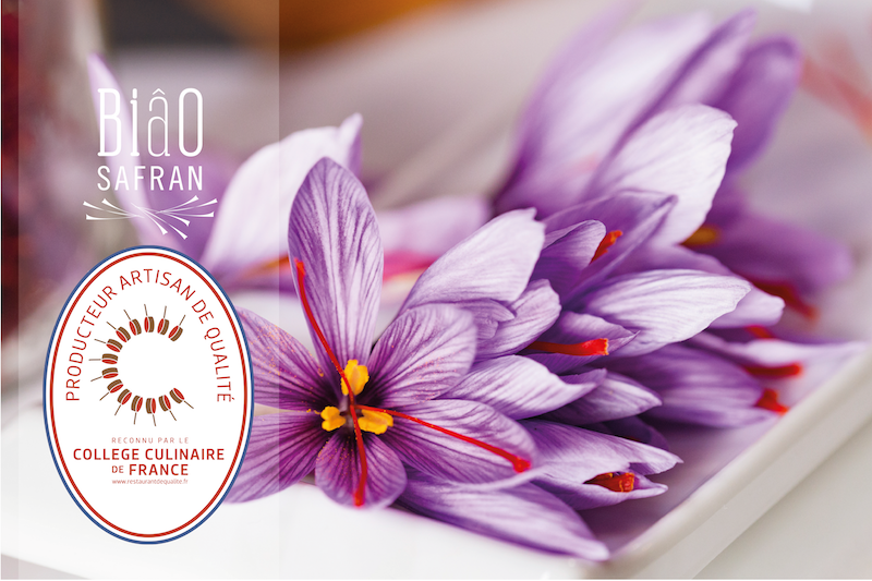 Safran Normand reconnu «producteur artisan de qualité» par le Collège Culinaire de France 🇫🇷